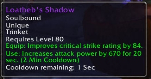 Loatheb's Shadow